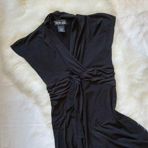 Style & Co | Sophisticated Classic Black Dress